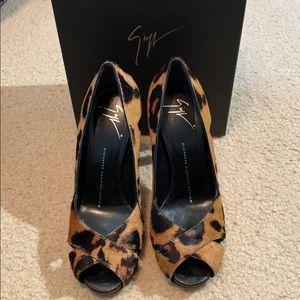 Giuseppe Zanotti Leopard Heels